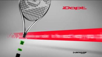 Dunlop iDAPT TV Spot, 'Customize Your Racket' - Thumbnail 2