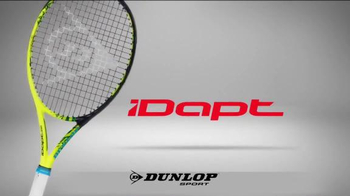 Dunlop iDAPT TV Spot, 'Customize Your Racket'
