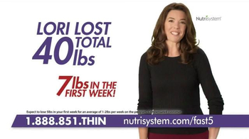 Nutrisystem Fast 5+ TV Spot, 'Feel the Difference' Featuring Marie Osmond - Thumbnail 3