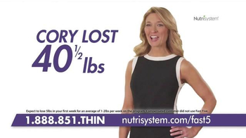 Nutrisystem Fast 5+ TV Spot, 'Feel the Difference' Featuring Marie Osmond - Thumbnail 7