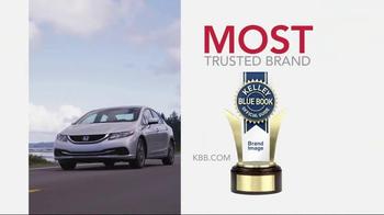 Honda Dream Garage Sales Event TV Spot, 'Our Latest Innovation: 2015 Civic' - Thumbnail 1