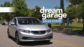 Honda Dream Garage Sales Event TV Spot, 'Our Latest Innovation: 2015 Civic' - Thumbnail 4