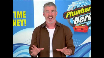 Plumber's Hero TV Spot, 'Clear Clogs Fast'