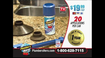 Plumber's Hero TV Spot, 'Clear Clogs Fast' - Thumbnail 8