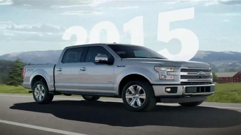2015 Ford F-150 TV Spot, 'Year After Year' - 209 commercial airings