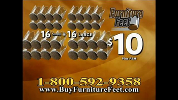 Furniture Feet TV Spot, 'Oh No!' - Thumbnail 8