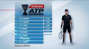 ATP World Tour TV Spot, '2015 Emirates ATP Rankings'