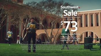 Southwest Airlines TV Spot, 'College Visits' - Thumbnail 10