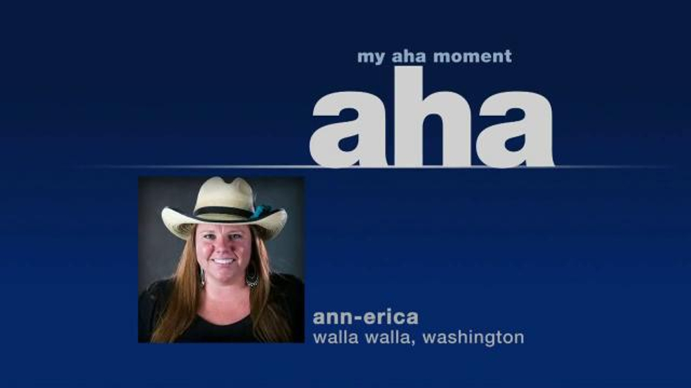 Mutual of Omaha TV Commercial, 'Aha Moment: Ann-Erica'