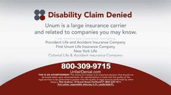 Sokolove Law TV Spot, 'Disability Claim Denied' - Thumbnail 4