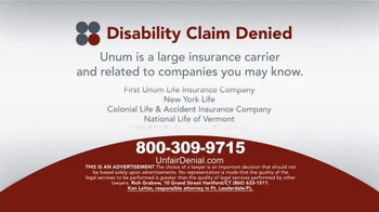 Sokolove Law TV Spot, 'Disability Claim Denied' - Thumbnail 5
