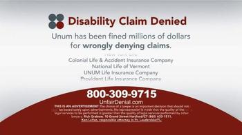 Sokolove Law TV Spot, 'Disability Claim Denied' - Thumbnail 6