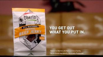 Oberto Beef Jerky TV Spot, 'Doughnut' Featuring Stephen A. Smith - Thumbnail 7