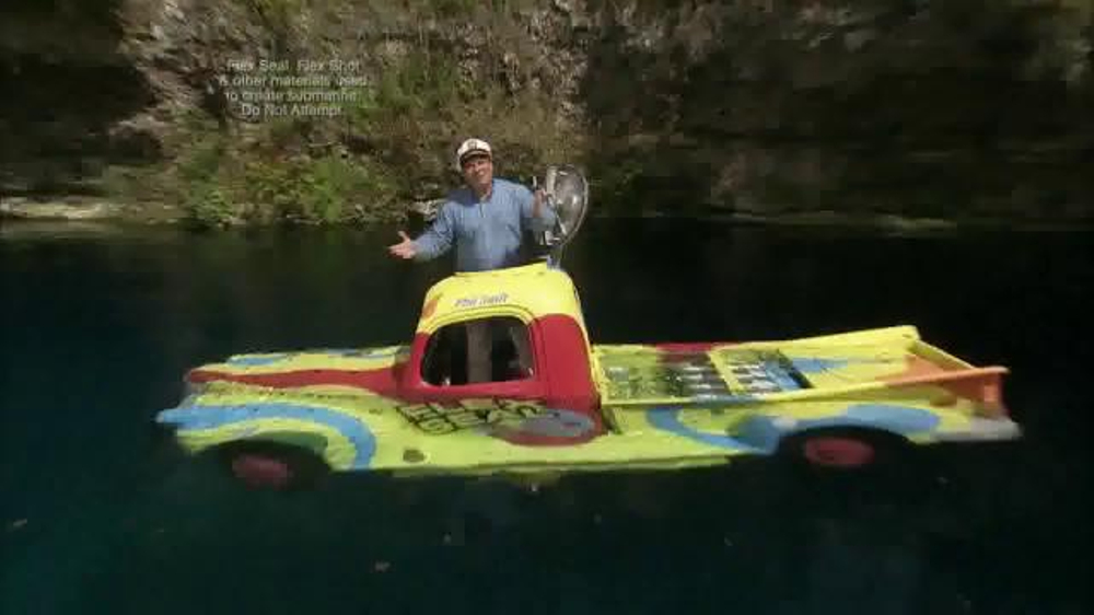 Flex Seal Colors Tv Commercial Submarine Ispottv