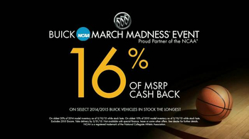 Buick NCAA March Madness Event TV Spot, 'Experience the New Buick Wi-Fi' - Thumbnail 7