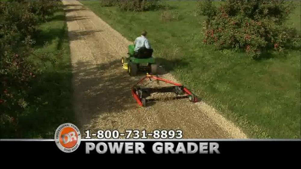 DR Power Grader TV Commercial, 'Bumpy Road'