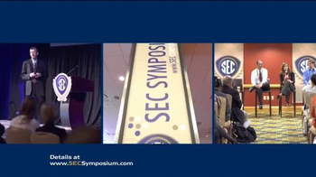 Southeastern Conference (SEC) 3rd Annual Symposium TV Spot, 'Innovation'