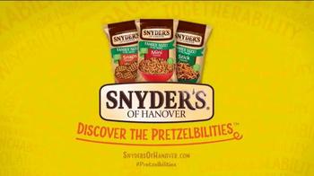 Snyder's of Hanover Pretzels TV Spot, 'Snyder's of Hanover Anthem' - Thumbnail 7