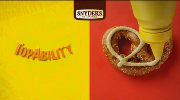 Snyder's of Hanover Pretzels TV Spot, 'Snyder's of Hanover Anthem' - Thumbnail 3