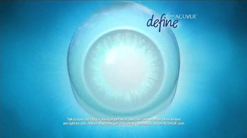 1-Day ACUVUE Define Brand Contact Lenses TV Spot, 'Enhance Your Eyes' - Thumbnail 5