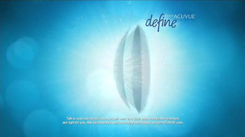 1-Day ACUVUE Define Brand Contact Lenses TV Spot, 'Enhance Your Eyes' - Thumbnail 6