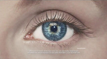 1-Day ACUVUE Define Brand Contact Lenses TV Spot, 'Enhance Your Eyes' - Thumbnail 7