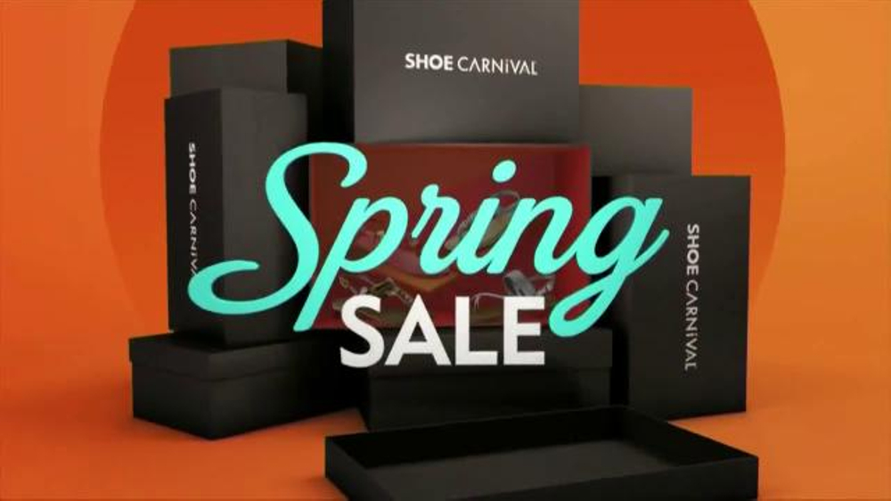 da20eeba5254 Shoe Carnival Spring Sale TV Commercial