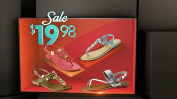 Shoe Carnival Spring Sale TV Spot, 'Sandals and Wedges' - Thumbnail 4