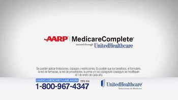 UnitedHealthcare TV Spot, 'AARP Medicare Complete' [Spanish] - 357 commercial airings