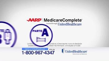 UnitedHealthcare TV Spot, 'AARP Medicare Complete' [Spanish] - Thumbnail 3
