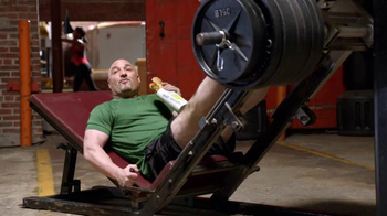 Subway Sweet Onion Chicken Teriyaki TV Spot, 'Weight Room' Feat. Joe Gibbs - Thumbnail 3