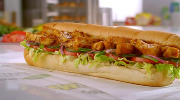 Subway Sweet Onion Chicken Teriyaki TV Spot, 'Weight Room' Feat. Joe Gibbs - Thumbnail 6