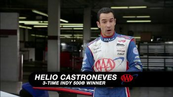 AAA TV Spot, 'Drive Safe: How to Train Your Dragon' Feat. Helio Castroneves - 2 commercial airings