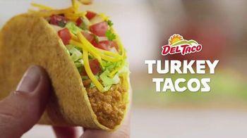 Del Taco Turkey Tacos TV Spot, 'Now Made with Jennie-O Turkey'