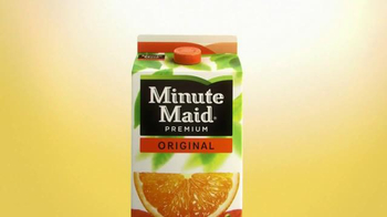 Minute Maid Premium Original Orange Juice TV Spot, 'The Goodness of Fruit' - Thumbnail 1