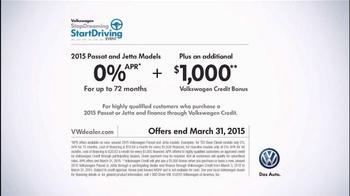 2015 Volkswagen Passat TV Spot, 'StopDreaming, StartDriving Event:Pinch Me' - Thumbnail 7