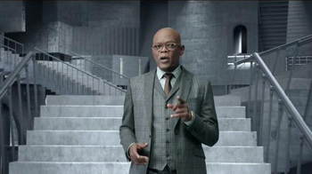 Capital One Quicksilver TV Spot, 'Shifting Stairs' Feat. Samuel L. Jackson - 2951 commercial airings