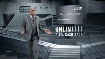 Capital One Quicksilver TV Spot, 'Shifting Stairs' Feat. Samuel L. Jackson - Thumbnail 5