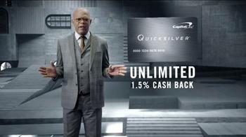 Capital One Quicksilver TV Spot, 'Shifting Stairs' Feat. Samuel L. Jackson - Thumbnail 7