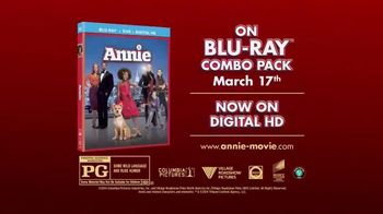 Annie Blu-ray Combo Pack TV Spot - 1153 commercial airings