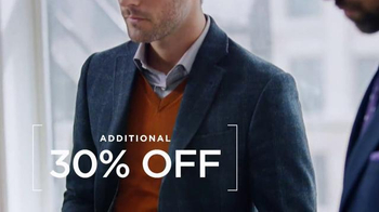 Men's Wearhouse Buy One Get One Free TV Spot, 'Even Better Savings' - Thumbnail 6