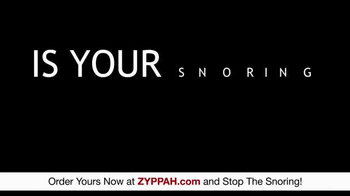Zyppah TV Spot, 'Stop the Loud Snoring' - Thumbnail 3