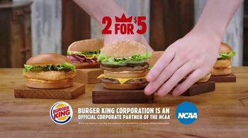 Burger King TV Spot, 'Sound Order' Featuring Seth Davis and Kenny Smith - Thumbnail 10