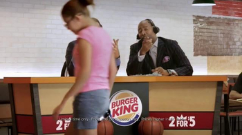 Burger King TV Spot, 'Sound Order' Featuring Seth Davis and Kenny Smith - Thumbnail 7