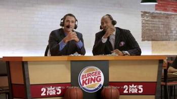 Burger King TV Spot, 'Sound Order' Featuring Seth Davis and Kenny Smith - Thumbnail 8
