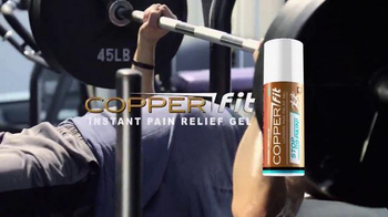 Copper Fit Ultimate Pain Relief Gel TV Spot, 'Feel the Power' - 3 commercial airings