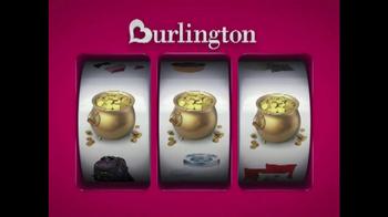 Burlington Coat Factory Home Stock-Up Event TV Spot, 'Savings Jackpot' - Thumbnail 3