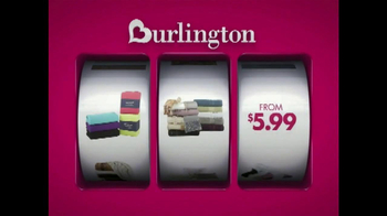 Burlington Coat Factory Home Stock-Up Event TV Spot, 'Savings Jackpot' - Thumbnail 6
