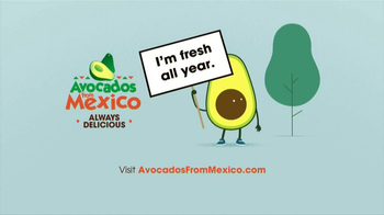 Avocados From Mexico TV Spot, 'Fresh All Year' - Thumbnail 9