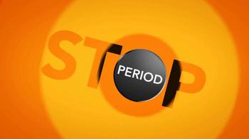 Pamprin Multi-Symptom TV Spot, 'Stop' - Thumbnail 1